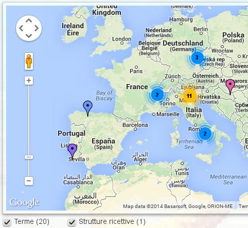 ContentMap Google Maps Joomla Geotagging Joomla - Portugal map google